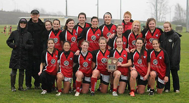 Abby Women BC Tier 2 Rugby Champions 2013