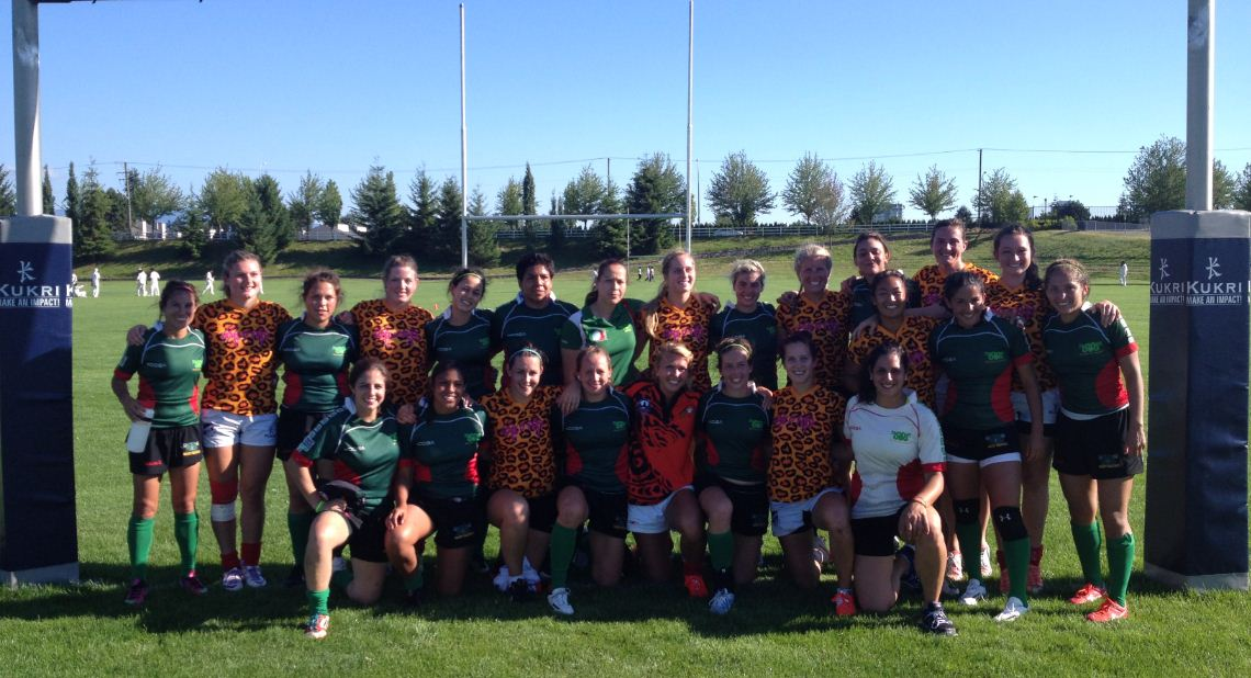 Abby Women with Mexico - Abby Sevens 2014